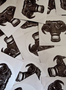 Gas Goat Stickers List Image